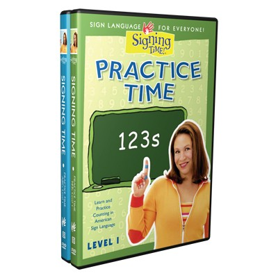 Practice Time ABCs and 123s DVD Set
