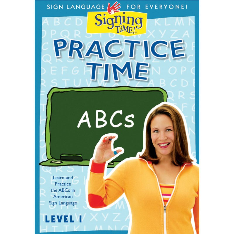 Practice Time ABCs DVD