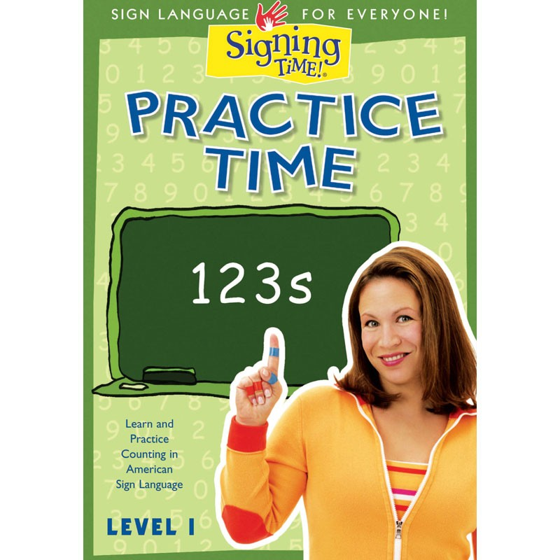 Practice Time 123s DVD