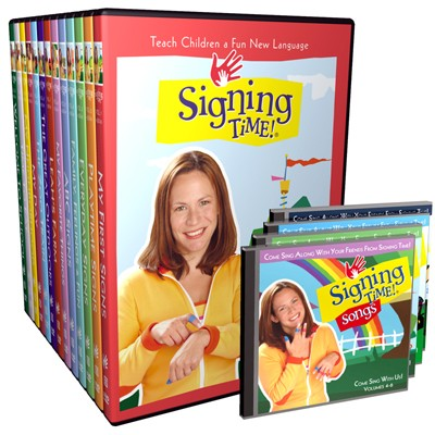 Signing Time Series One DVD + CD Collection