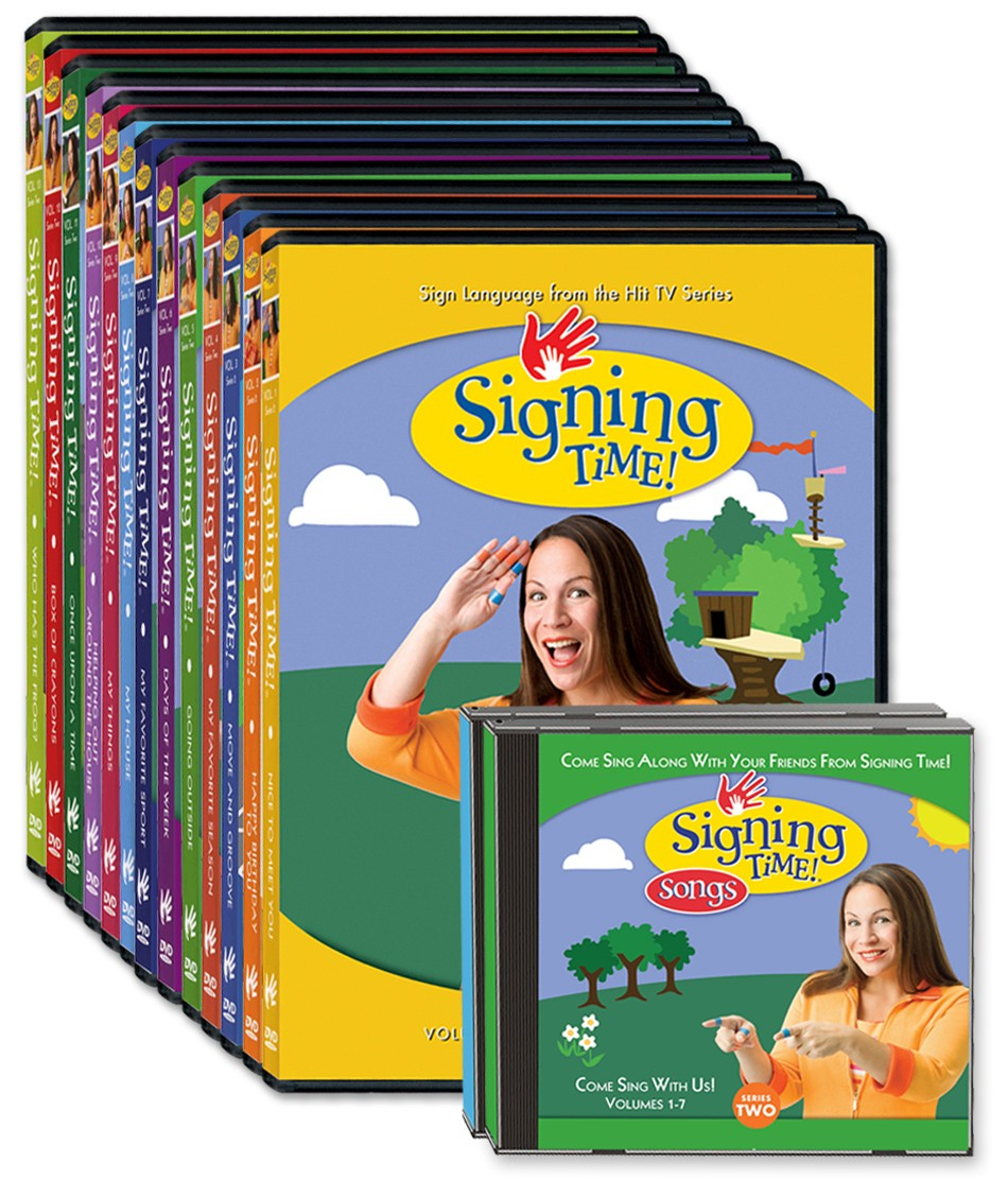 Signing Time Series Two DVD + CD Collection